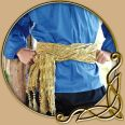 Costume - Golden Sash